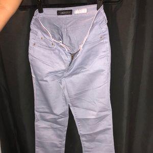 Denim - solid blue jeans
